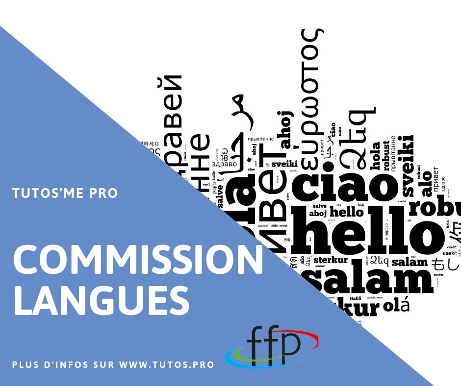 COMMISSION LANGUES FFP