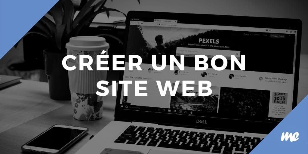 Créer un bon site web